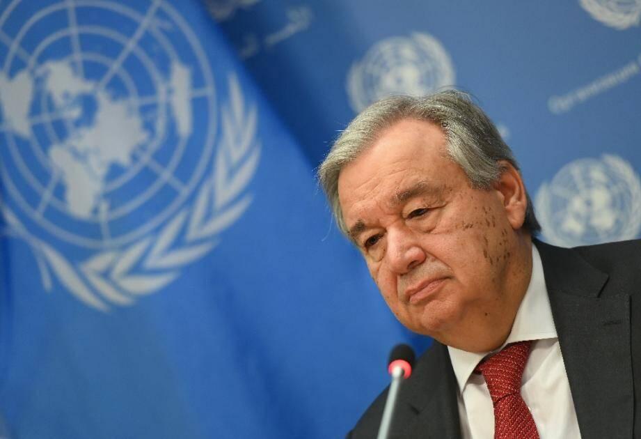Le chef de l'ONU, Antonio Guterres, le 4 février 2020 à New York