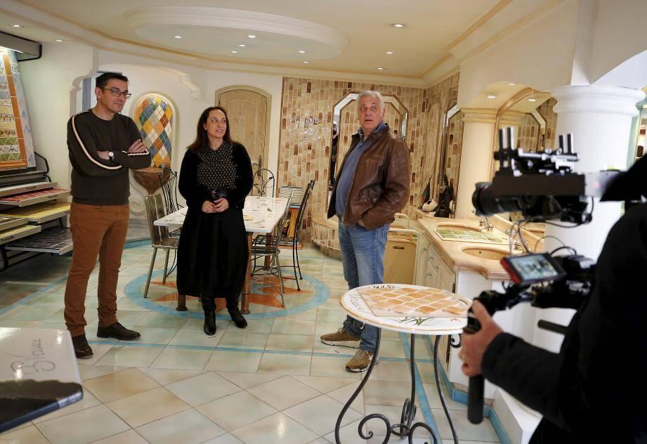 La manufacture de céramique Versace, à Cagnes-sur-Mer, sera dans l'émission Maison France 5 ce soir, à 20h50.
