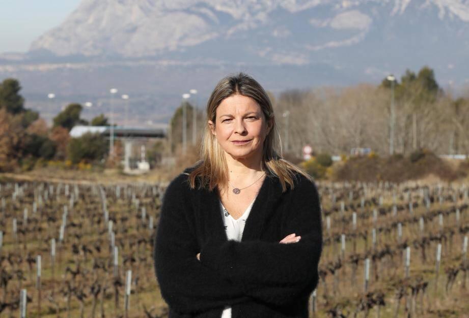 La vigneronne pourrièroise préside la chambre d'agriculture depuis un peu plus d'un an.