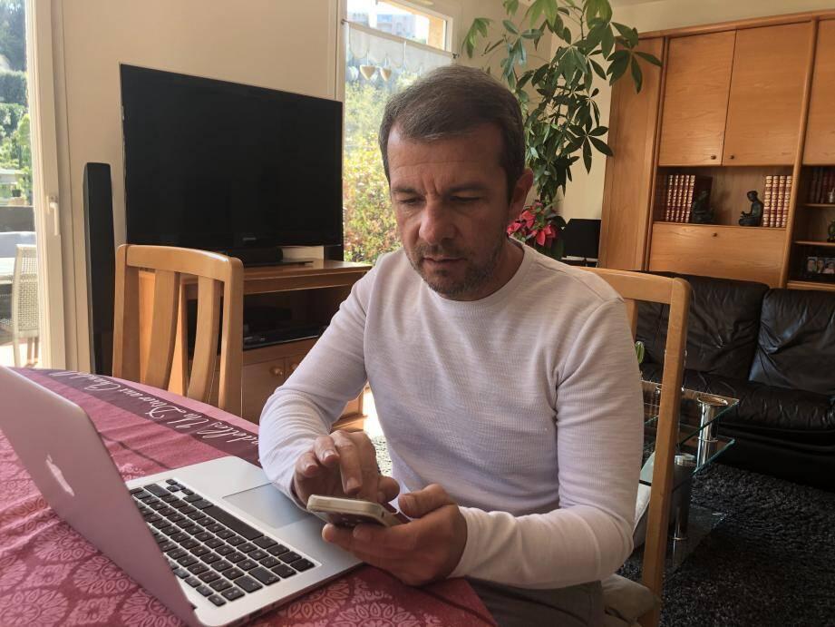 "Arnaud Soler veut ""garder le lien""."