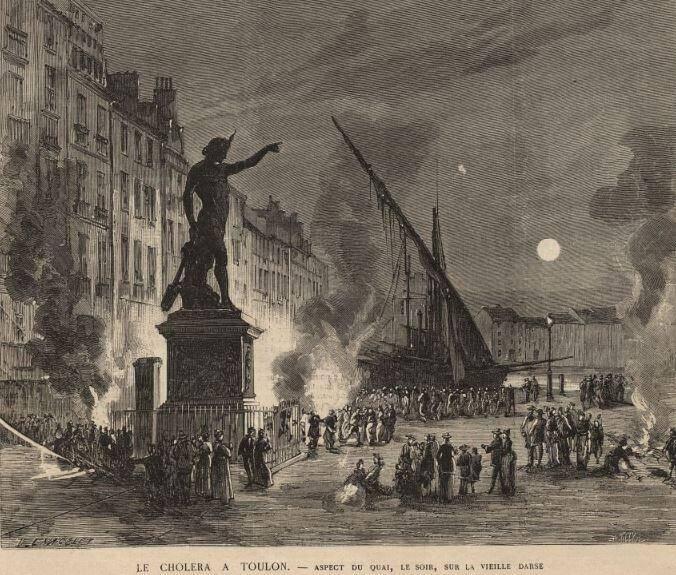 De Toulon, le mal s'est propagé à Marseille et toute la Provence.