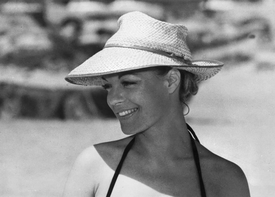 """Romy Schneider dans le film de Claude Sautet """"César et Rosalie""""."""