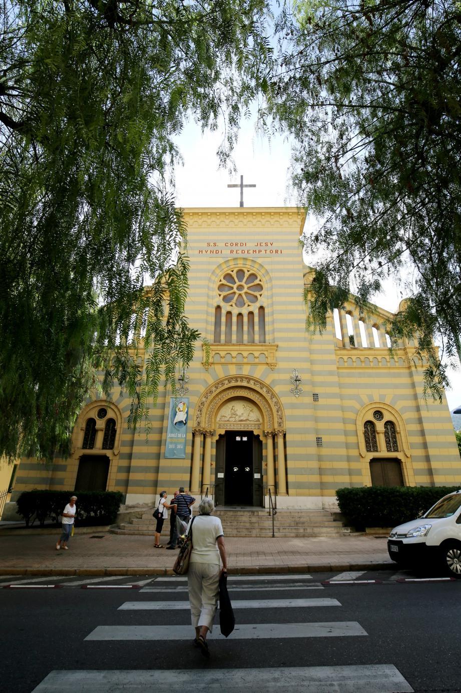 Les cloches sonneront jeudi à 20h et dimanche à 11h dans toutes les églises comme à celle du Sacré Coeur de Menton.