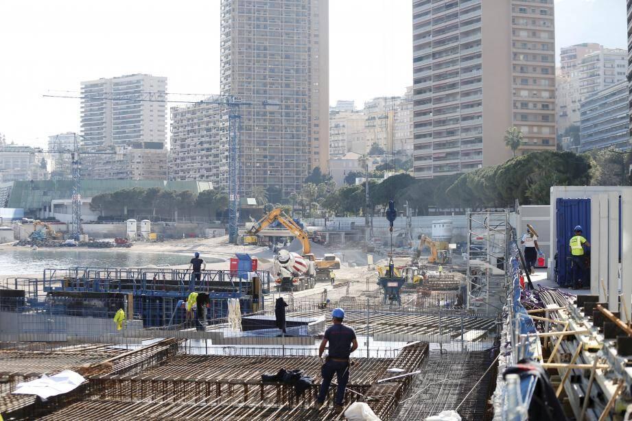 """""""Appliquer, sur un chantier, toutes les préconisations nécessaires pendant cette crise sanitaire, c'est illusoire"""", estime le président de l'Ordre des architectes de Monaco."""