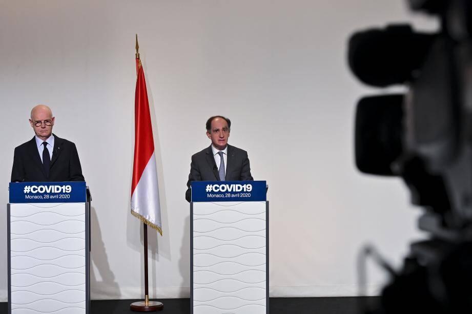 Le Ministre d'Etat et trois conseillers de gouvernement ont pris la parole, mardi soir, pour détailler les mesures nationales du déconfinement.