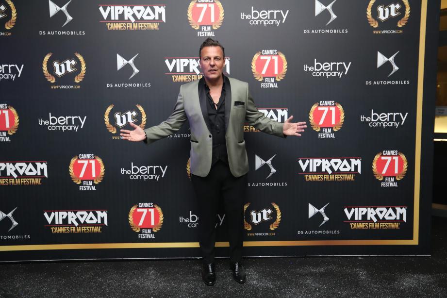 Jean Roch, en 2018 lors du festival de Cannes