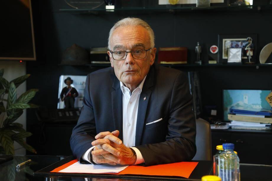 Richard Galy, maire de Mougins.