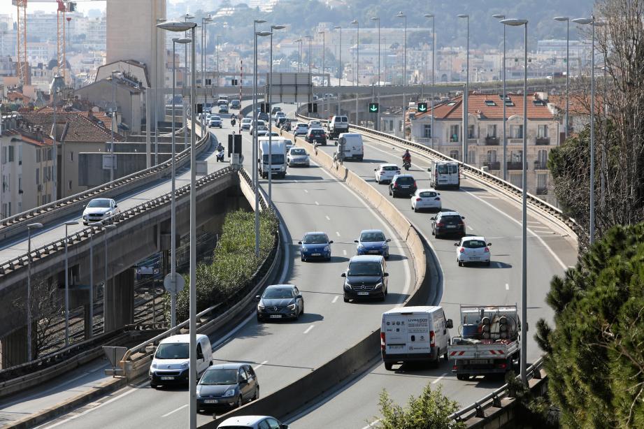 La voie Pierre-Mathis à Nice.