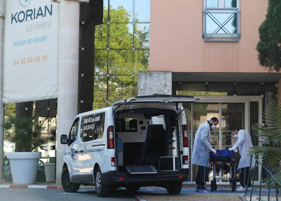 A ce jour, on dénombre 34  morts du coronavirus à la maison de retraite du groupe Korian, La Riviera de Mougins.