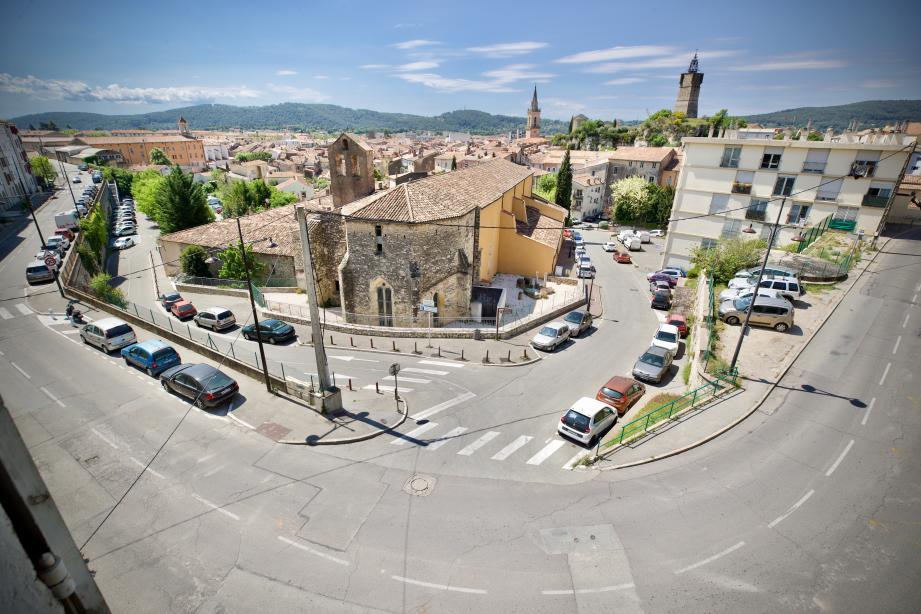 Draguignan, ville morte pendant le confinement.
