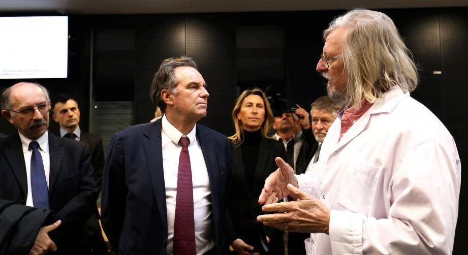 """""""Le seul traitement que je peux apporter"""", maintient Renaud Muselier."""