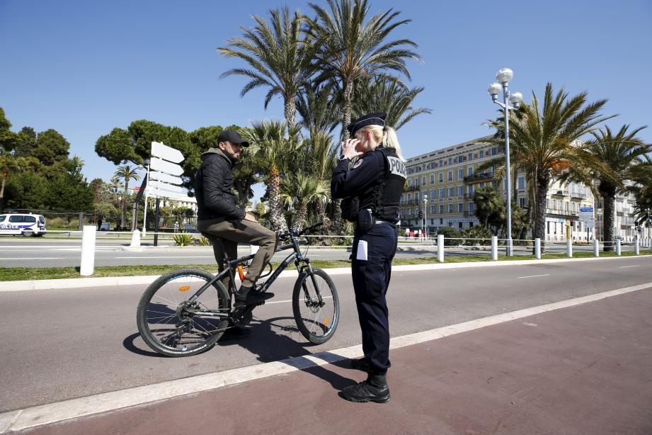 Peut-on circuler à vélo sur la Prom?