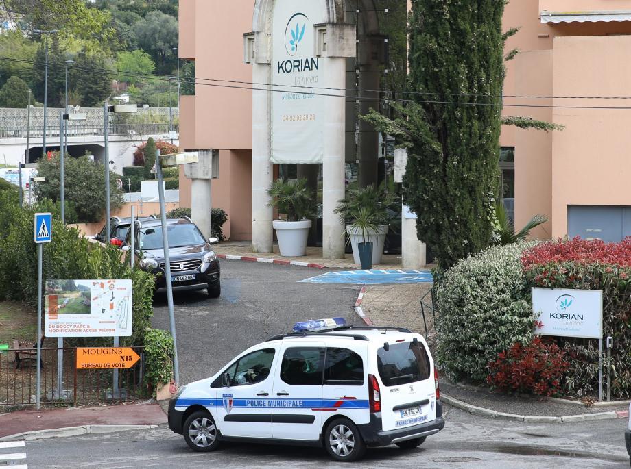 La maison de retraite La Riviera à Mougins.