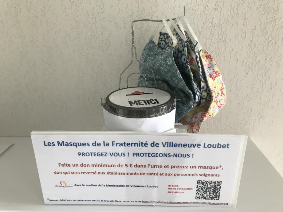 Un don de 5 euros minimum est demandé. L'intégralité des cagnottes sera reversée aux personnels soignants et aux établissements de santé.