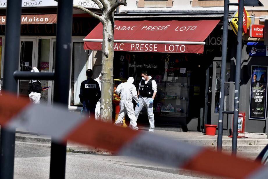 L'attaque a eu lieu dans le centre de Romans-sur-Isère samedi.