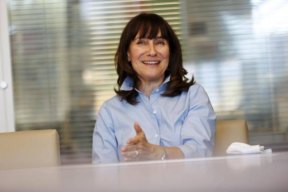 Sylvie Biancheri, directrice du Grimaldi Forum.