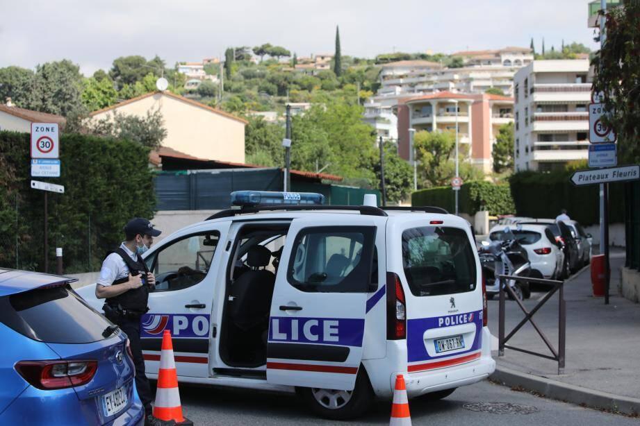 L'avenue Paul Cézanne bouclée samedi matin à Saint-Laurent-du-Var