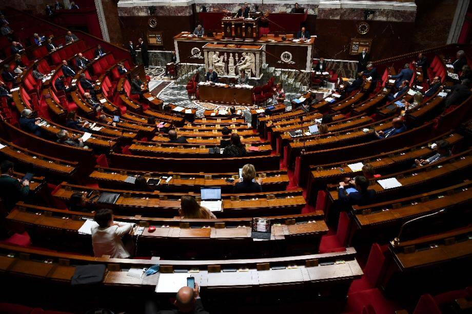 L'Assemblée nationale, le 26 mai 2020 à Paris