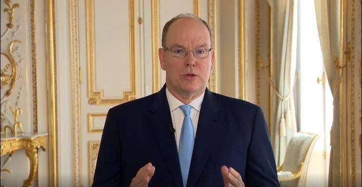Le prince Albert II solidaire.