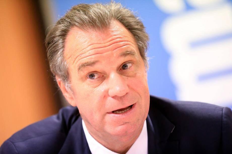 Le président de la Région Sud Renaud Muselier