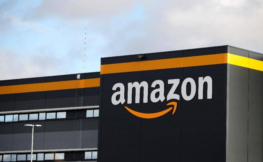 L'entrepôt d'Amazon à Brétigny-sur-Orge en novembre 2019.