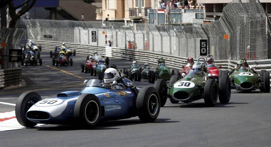 Le 11e Grand Prix Monaco Historique, le dimanche 13 mai 2018.