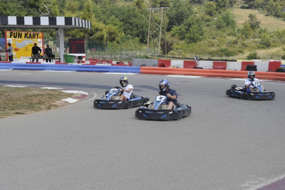 Les mordus de karting ont retrouvé leur piste favorite.