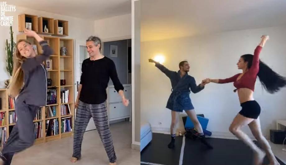 Les danseuses et danseurs des Ballets de Monte-Carlo nous offrent une petie pépite.