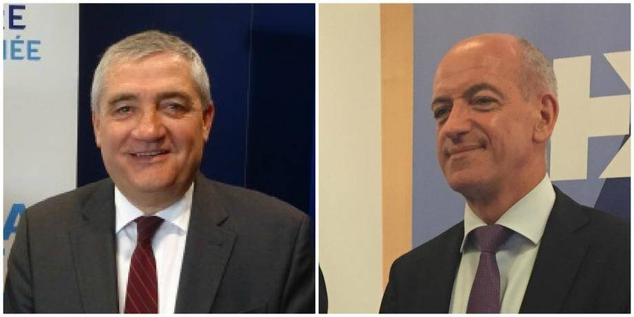 Philippe Henri et Christophe Bosson, respectivement président et directeur général de la BPMed.