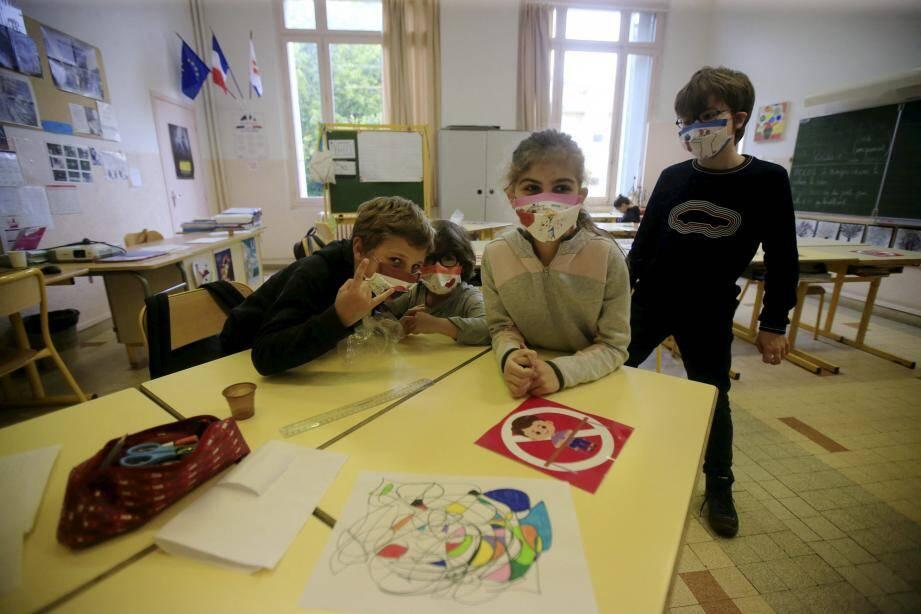 Les 154 écoles de Nice s'apprêtent à rouvrir.