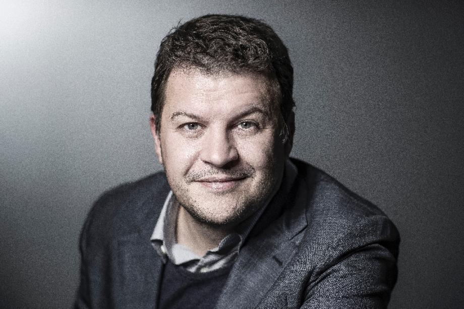 Le romancier Guillaume Musso en avril 2018 à Paris