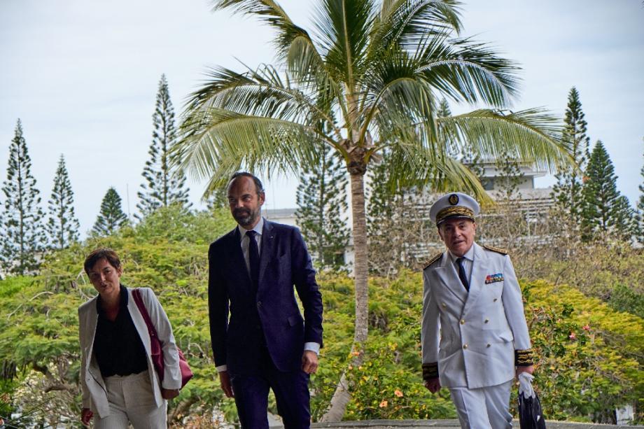 Le Premier ministre Edouard Philippe à Nouméa, en Nouvelle-Calédonie, le 5 novembre 2018
