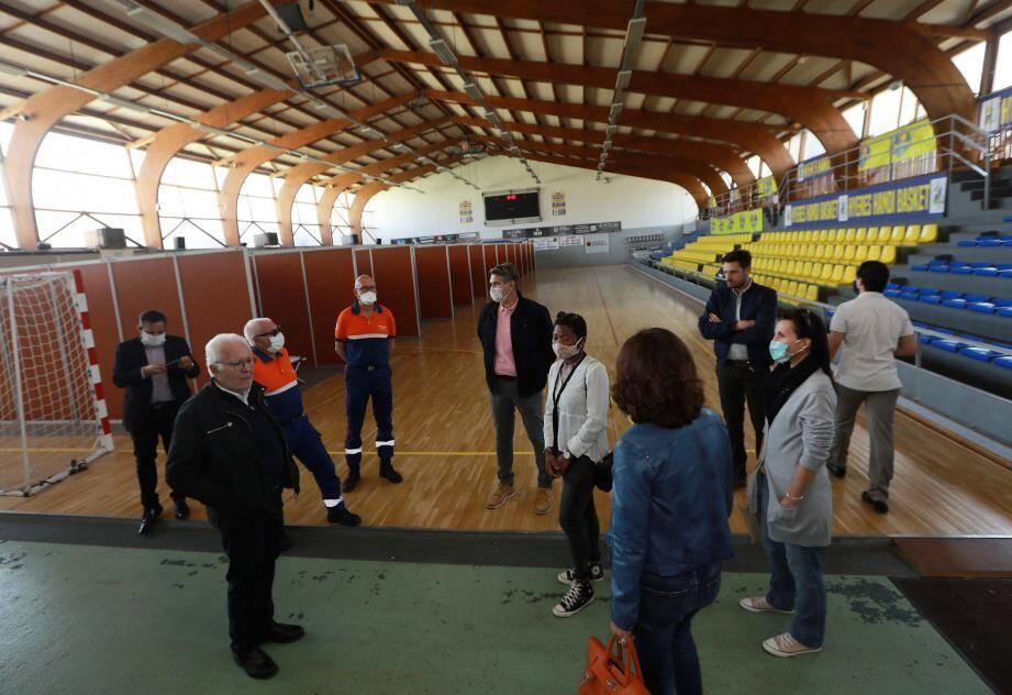 Le maire a annoncé hier la fermeture déjà effective du centre Covid-19 de La Vilette et, le 11 mai, du centre d'accueil des SDF aux Rougières (ci-dessus).
