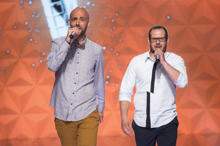 Le Varois Mickaël Felber (à droite), tentera samedi soir de remporter 100.000 euros pour l'Assistance publique - Hôpitaux de Paris.
