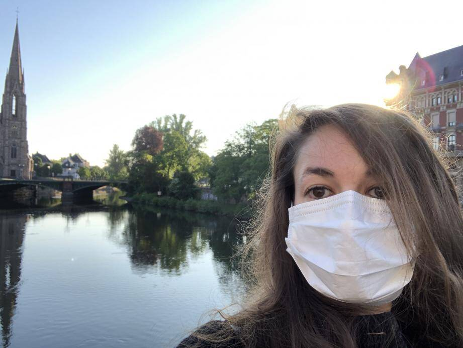 """Après la fin de son internat, en novembre prochain, la Raphaëloise espère revenir chez elle pour y travailler en tant qu'orthodontiste, """"idéalement à Saint-Raphaël même!"""""""
