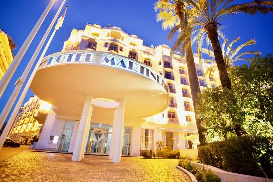L'hôtel Martinez de Cannes, comme nombre d'hôtels de luxe ou non, a dû fermer pendant la crise.