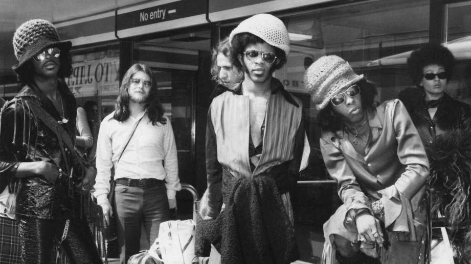 Le groupe Sly And The Family Stone.