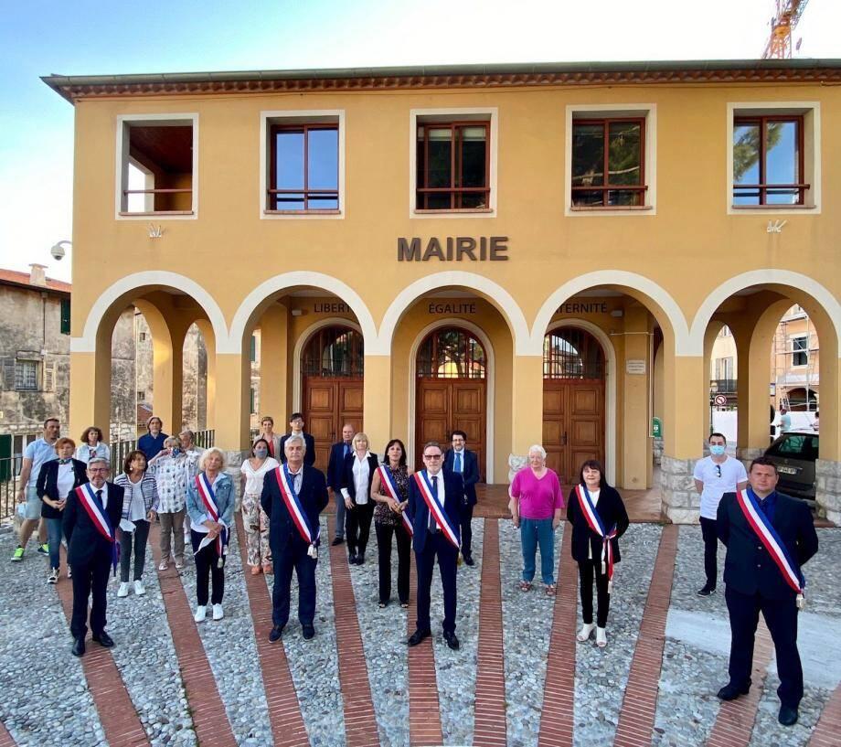 La nouvelle équipe municipale de La Turbie.