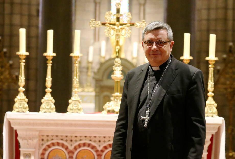 Mgr Dominique-Marie David est archevêque de Monaco depuis le 8 mars, date de son ordination.
