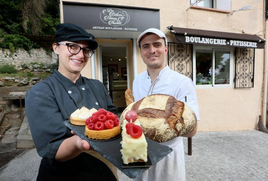 Manon et Thomas, en lice pour la meilleure boulangerie de France, ont mis les petits plats dans les grands pour être au sommet de leur art.