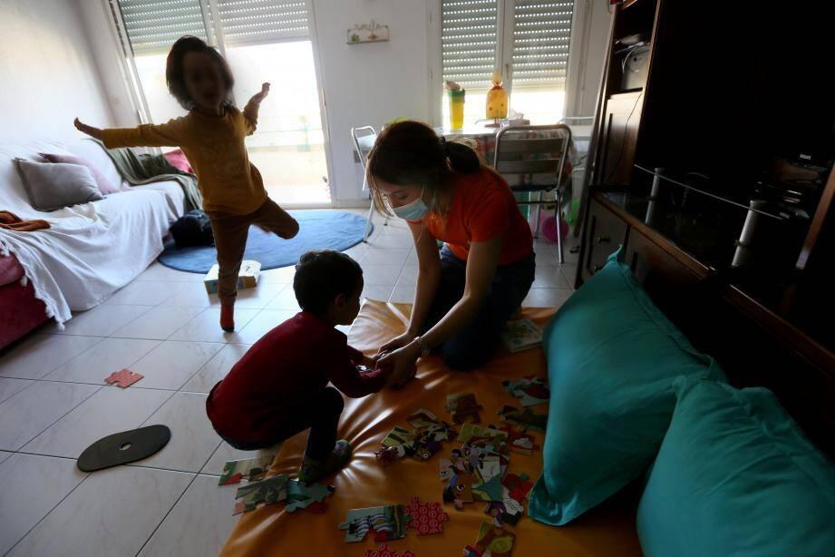 garde d'enfants de soignants par la societe babychou