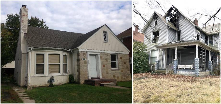 Le genre de maison qui était a priori proposée aux clients... ... la réalité était malheureusement souvent tout autre.