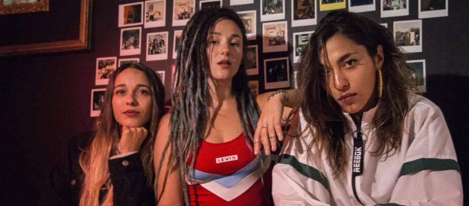 Elisa, Lucie et Juliette.