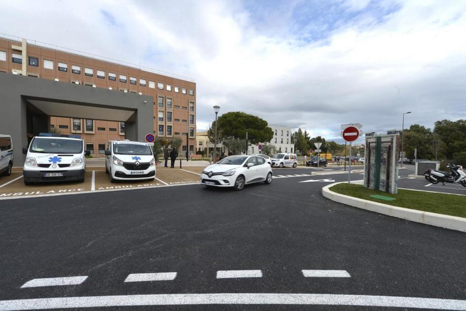 L'hôpital de Grasse.