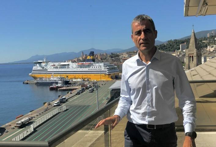 Le président de la Corsica Ferries.