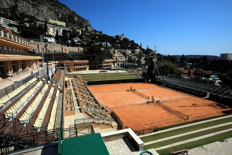 Comme Monte-Carlo, de nombreux tournois de tennis ont été annulés à cause du coronavirus.