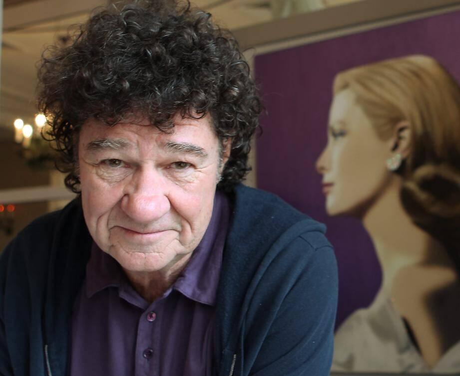 Robert Charlebois lors du 65e Festival de Cannes en 2012.