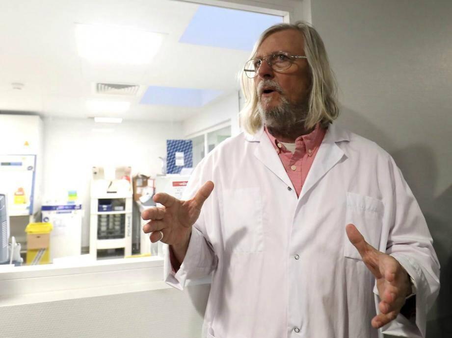 Le Pr Didier Raoult est à la tête de l'Institut hospitalo-universitaire en maladies infectieuses de Marseille.