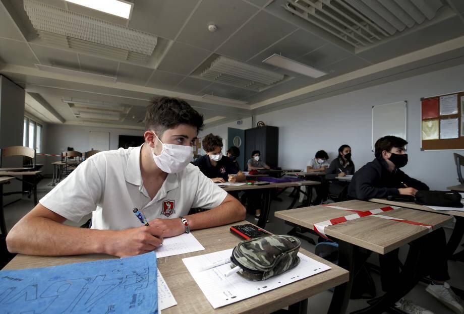 Monaco s'est distingué de la France en faisant rentrer les lycéens en premier.