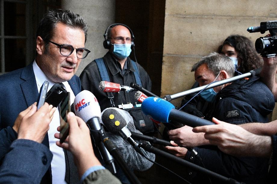 Didier Quillot le directeur général de la LFP le 4 juin 2020 à Paris.